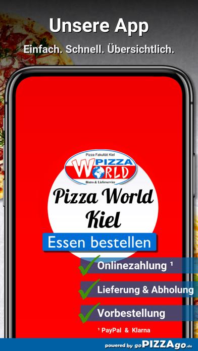 Pizza World Kiel screenshot 1