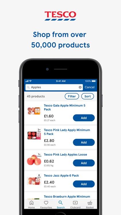 Tesco Grocery & Clubcard screenshot-0