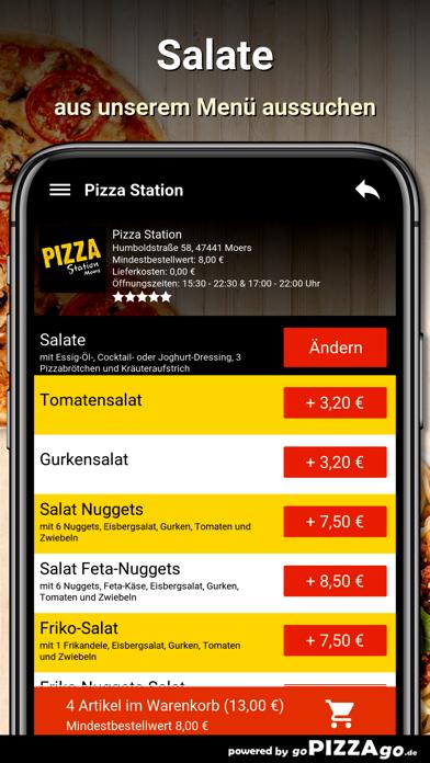 Pizza Station Moers screenshot 5
