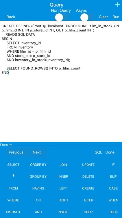 iWindowsProg - Database Client