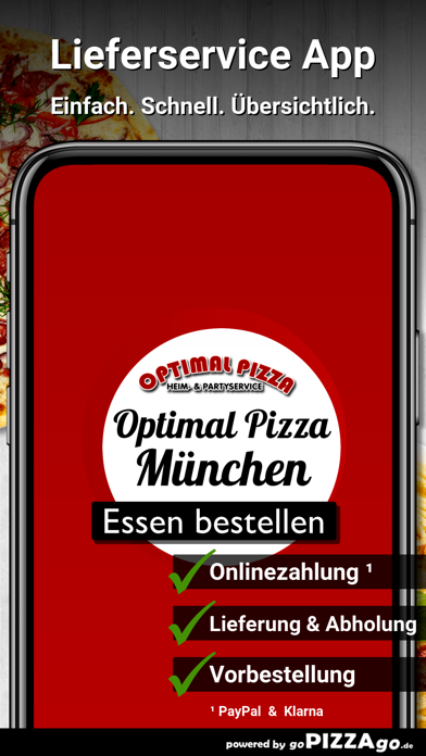 Optimal Pizza München screenshot 1
