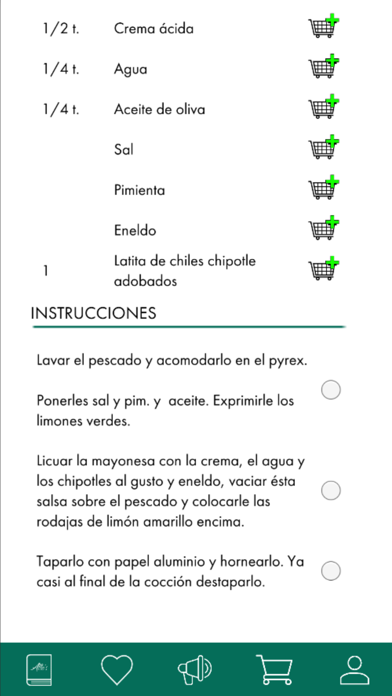 Recetario - Alle's Cookbook screenshot 4