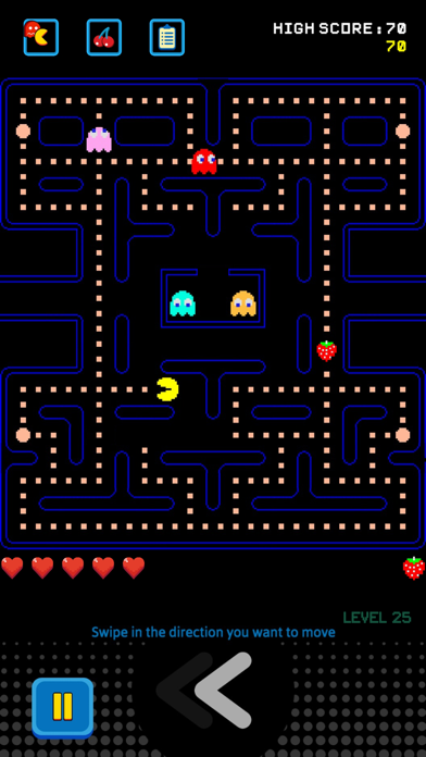 Screenshot from PAC-MAN