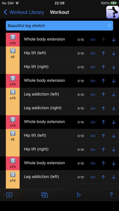 Workout Speech Timer screenshot 2