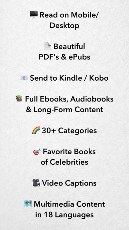StoryShots: Book Summaries screenshot-8