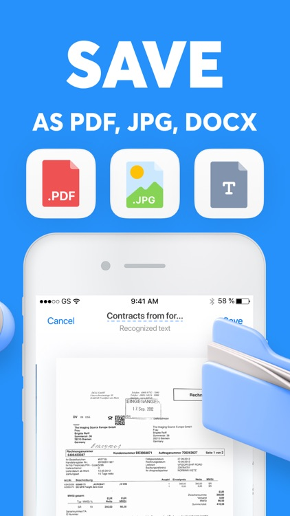 Scanner App PDF Document Cam screenshot-5