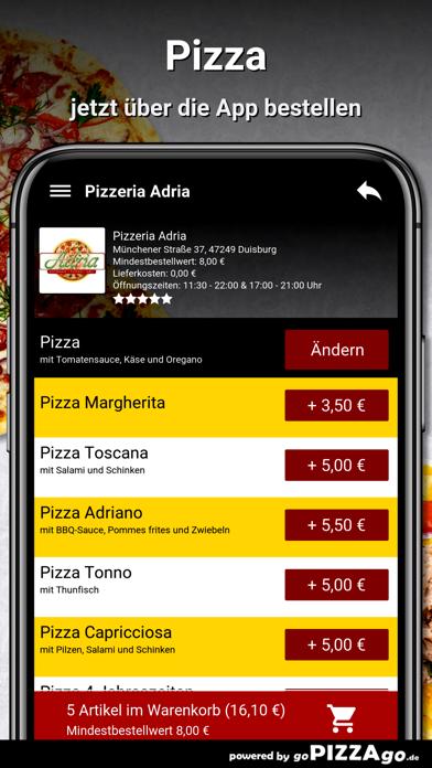 Pizzeria Adria Duisburg screenshot 5