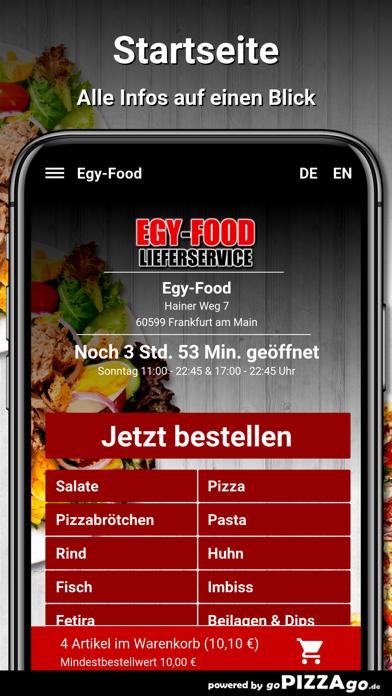 Egy-Food Frankfurt am Main screenshot 2