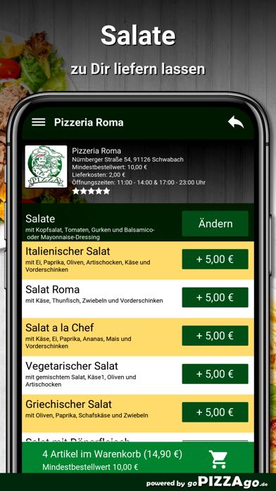Pizzeria Roma Schwabach screenshot 6