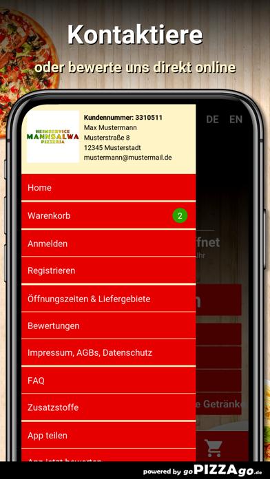 Pizzeria Mannsalwa Mörlenbach screenshot 3