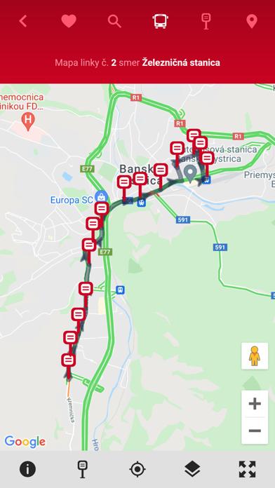 MHD Banská Bystrica screenshot 9