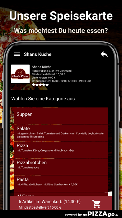 Shans Küche Dortmund screenshot 4