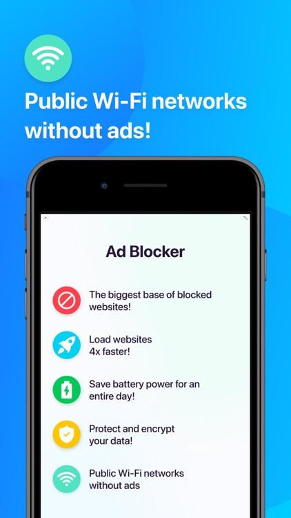 Ad Blocker: Privacy & AdBlock screenshot-4