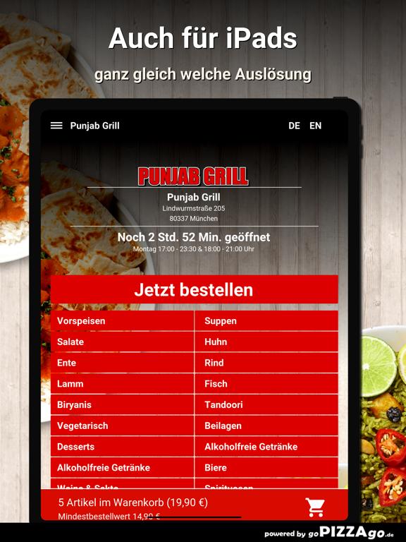Punjab Grill München screenshot 7