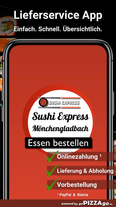 Sushi Express-Mönchengladbach screenshot 1