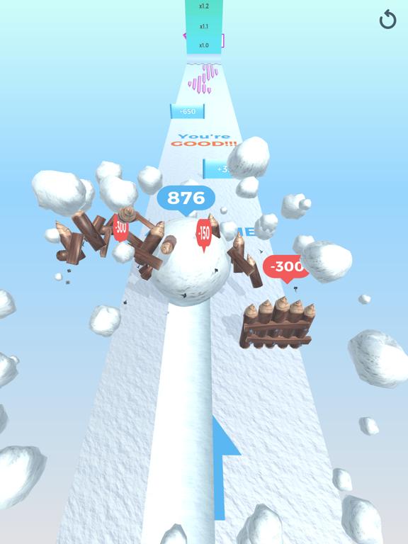 Snowball Effect 3D screenshot 14
