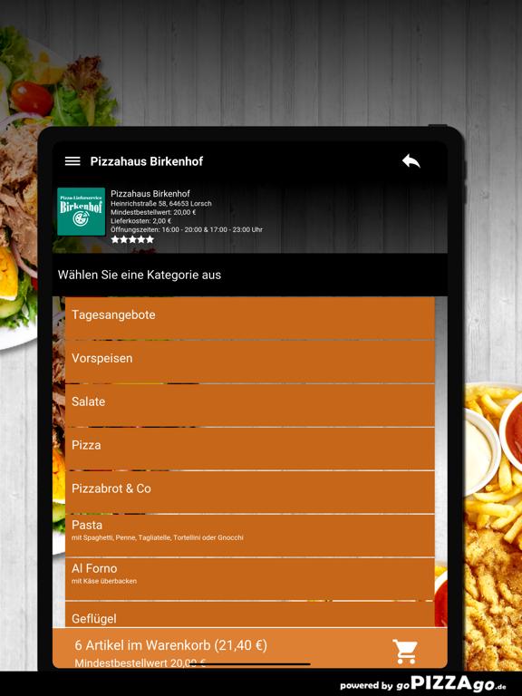 Pizzahaus-Birkenhof Lorsch screenshot 8