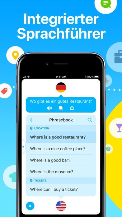Dialog - Sprache übersetzenScreenshot von 6