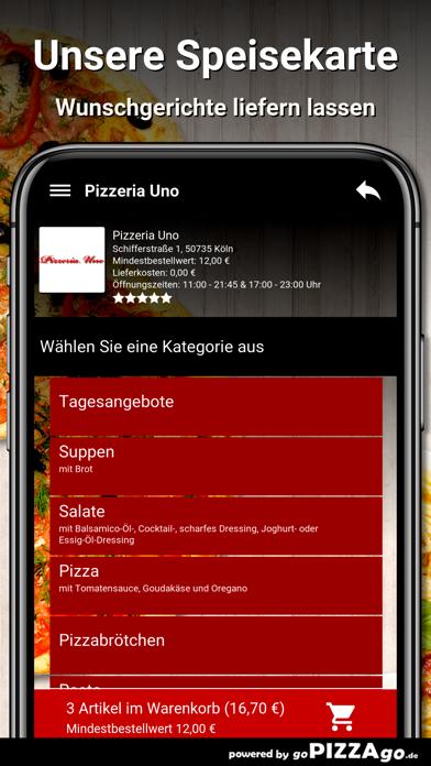 Pizzeria Uno Köln screenshot 4