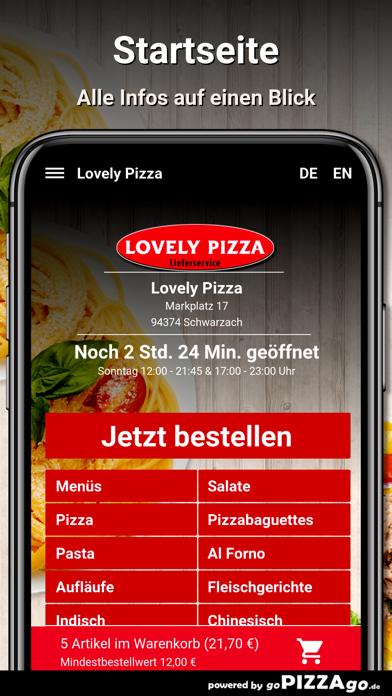 Lovely Pizza Schwarzach screenshot 2