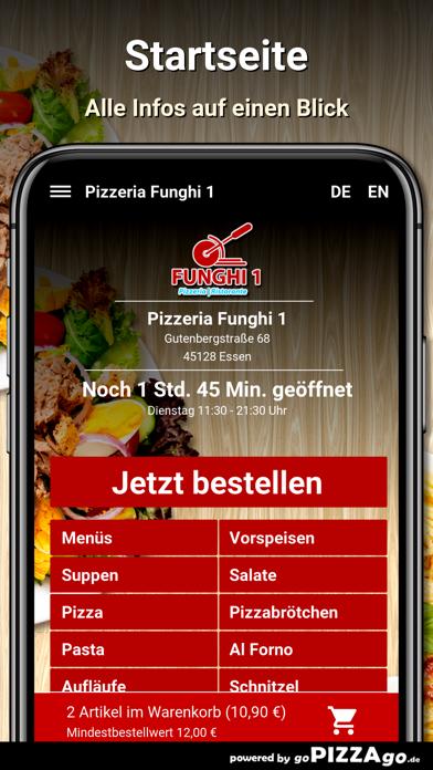 Pizzeria Funghi 1 Essen screenshot 2