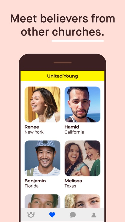 United Young: Dating & Friends screenshot-3