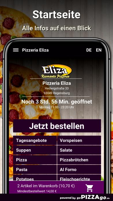 Pizzeria Eliza Regensburg screenshot 2