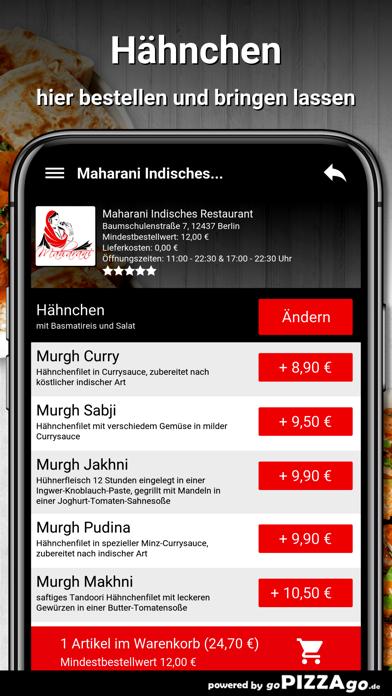 Maharani Berlin screenshot 6
