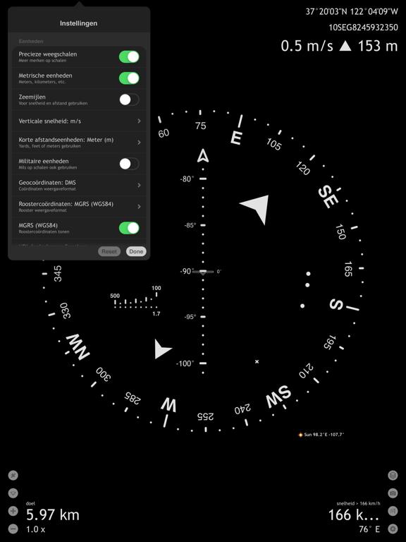 Commander Compass Go iPad app afbeelding 7