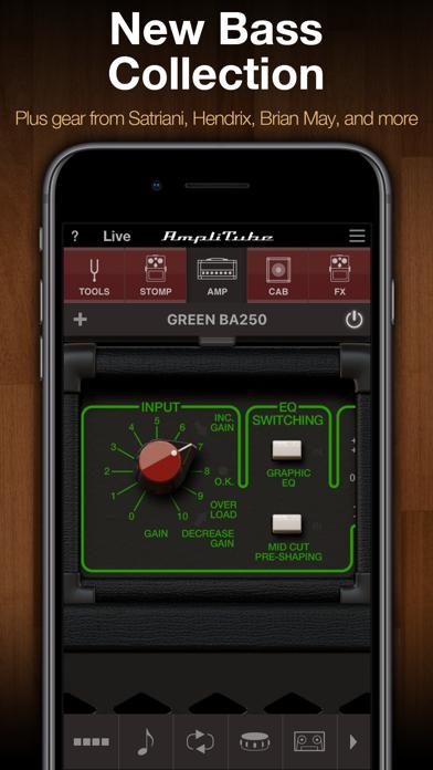 AmpliTube CS ScreenShot1