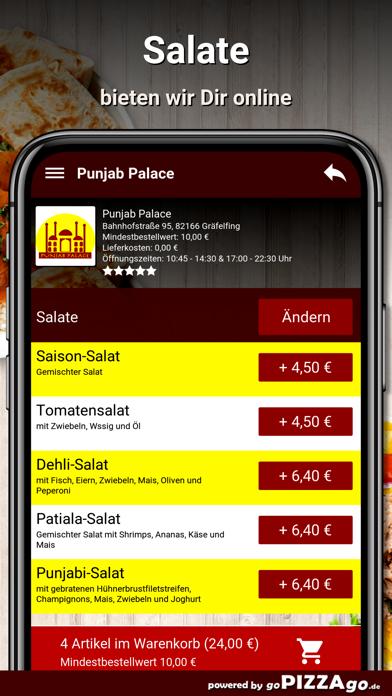 Punjab-Palace Gräfelfing screenshot 5