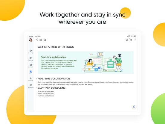 Screenshot #5 pour Lark - Work, Together