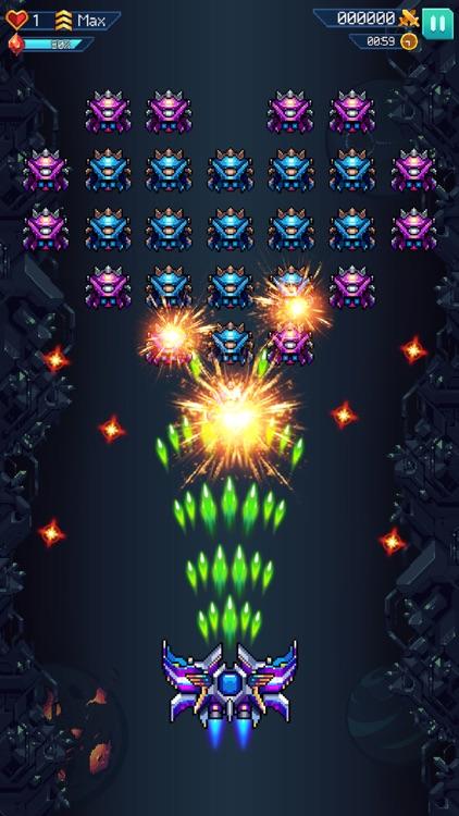 Galaxiga - Classic 80s Arcade screenshot-0