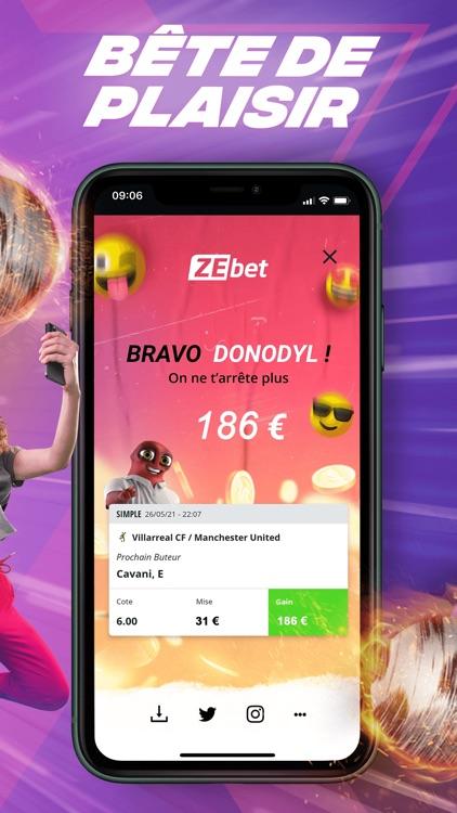 ZEbet - Paris sportifs screenshot-5