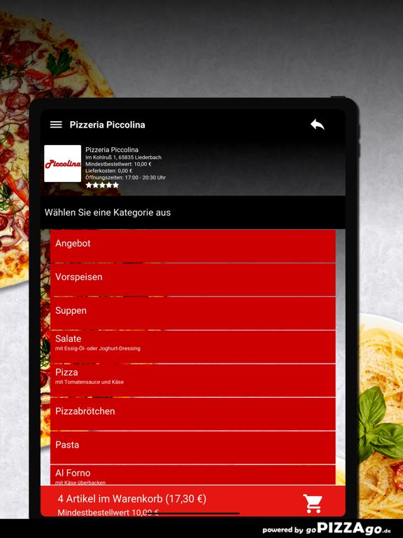 Pizzeria Piccolina Liederbach screenshot 8