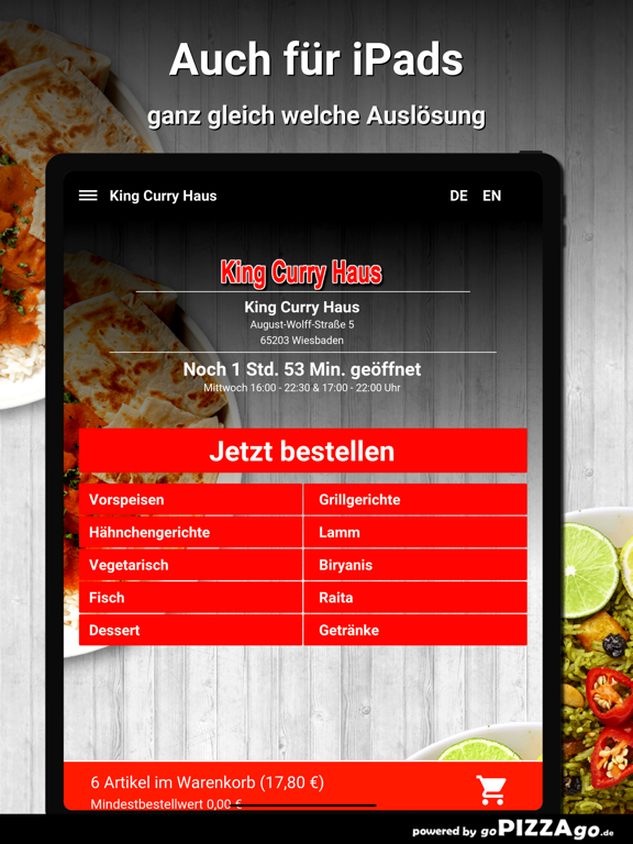 King Curry Haus Wiesbaden screenshot 7
