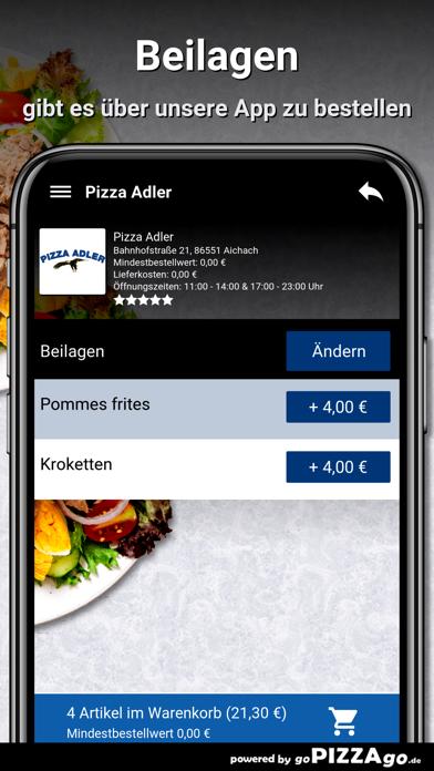Pizza-Adler Aichach screenshot 6