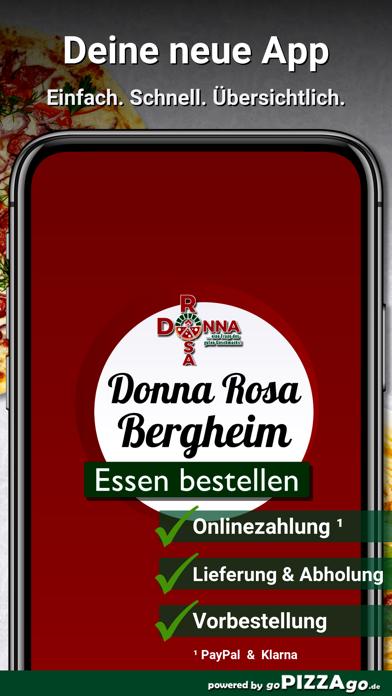 Donna Rosa Pizzeria Bergheim screenshot 1