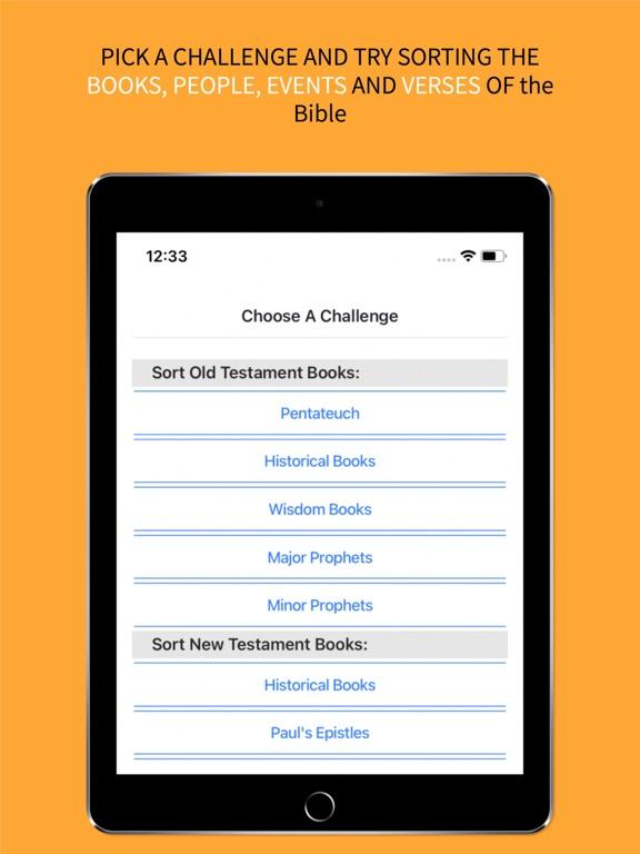 the BibleOrder App screenshot 11