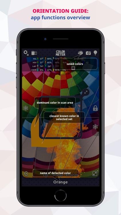 ColorMeter RGB Colorimeter screenshot-3