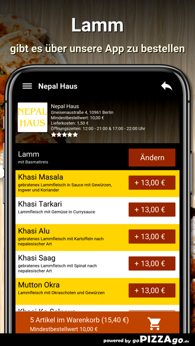 Nepal Haus Berlin screenshot 6