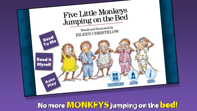 5 Monkeys Jumping on the Bed