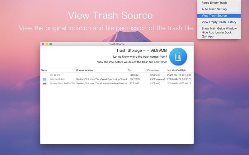 Better Trash Screenshots