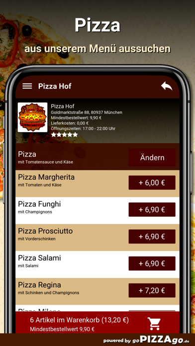 Pizza Hof München screenshot 5