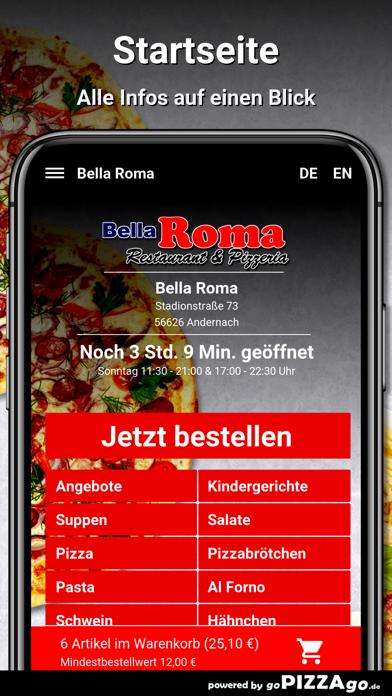 Bella Roma Andernach screenshot 2