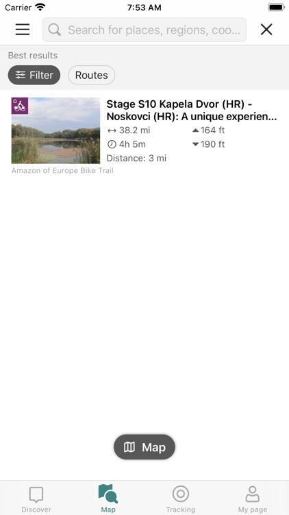 Amazon of Europe Bike Trail screenshot-3