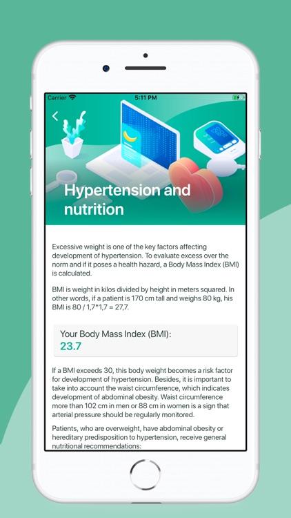 HealthWatch. Hypertension screenshot-4