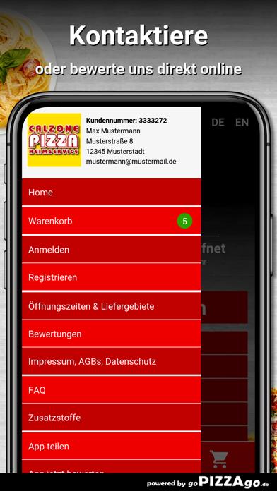 Calzone-Pizza München screenshot 5
