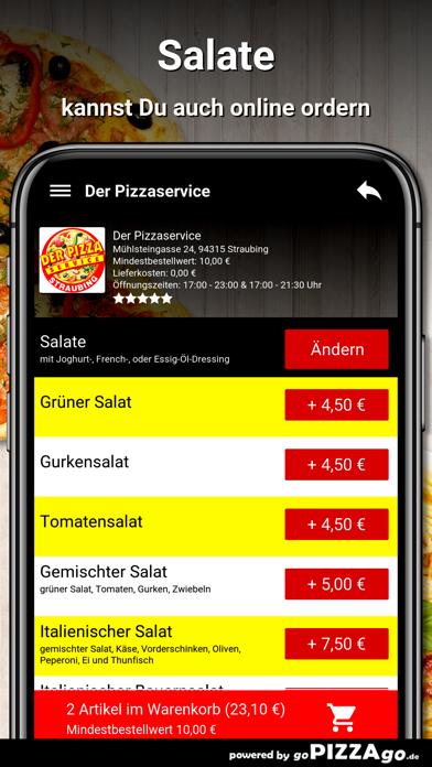 Der Pizzaservice Straubing screenshot 5