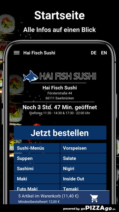 Hai Fisch Sushi Saarbrücken screenshot 2